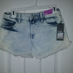 Women's size 2 denim jean cutoff shorts shorts